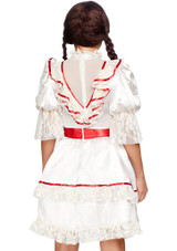 Haunted Doll Woman Costume back