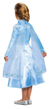 Frozen 2 Elsa Child Costume back