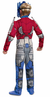 Transformers Optimus Prime Child Costume Back view