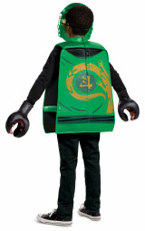 Lego Lloyd Legacy Ninjago Child Costume Back view