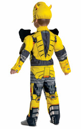 Bumblebee Transformers Muscle Costume