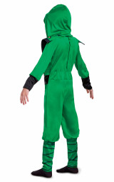 Lego Lloyd Legacy Ninjago Child Costume Back view