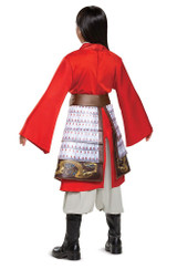 mulan hero red girls deluxe costume