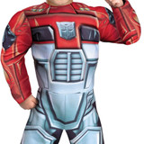 optimus prime rescue muscle halloween costume
