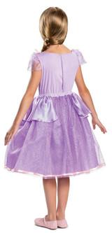Tangled Rapunzel Girl Costume Back View