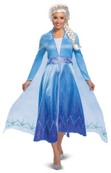 princess frozen elsa womens deluxe costume