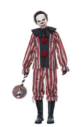 nightmare clown costume for men
