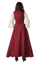 medieval overdress costume for women
