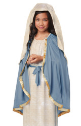 classic biblical mary girls costume