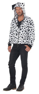 dalmatian hoodie costume for men