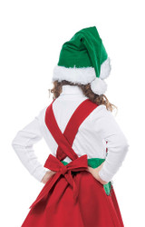 classic elf in charge child costume
