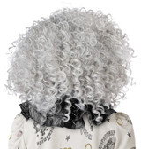 Corkscrew Clown Curls Gray Wig