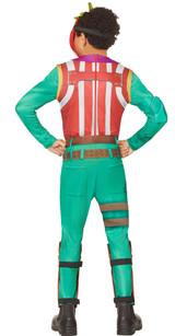 Tomato Head Boy Costume from Fortnite