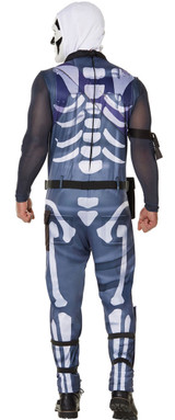 Skull Trooper Man Costume from Fortnite