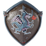 Black Fortnite knight shield