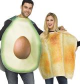 Pair Avocado Costume for Couples