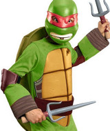 TMNT Raphael Classic Deluxe Boys Halloween Outfit