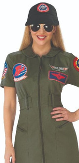 Womens Top Gun Halloween Outfit