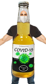 corona virus man costume