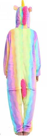 rainbow unicorn onesie for ladies