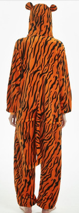 tiger onesie costume for ladies