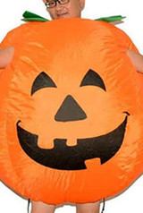 Pumpkin Man Inflatable Costume