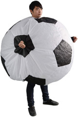 Football man costume inflatable