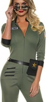 danger zone top gun costume for ladies