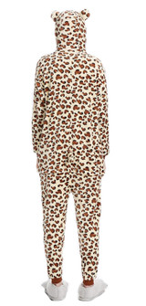 Leopard Onesie Costume for Women