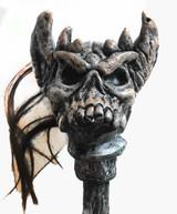 classic Warrior Skull Staff