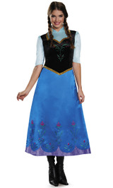Frozen Anna Traveling Costume