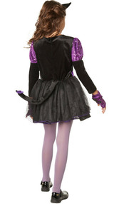 Purple Cat Girl Costume