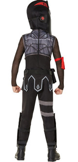 Fortnite Black Knight Youth Costume Back View