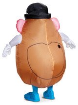 Mr. Potato Head Inflatable Costume Back View