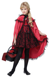 Red Riding Hood Girls Deluxe Costume