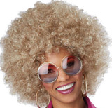 Foxy Lady Afro Blond Wig
