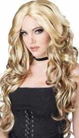 Celebrity Glam Blond Wig