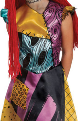 NBC Sally Deluxe Girls Costume