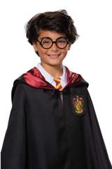 Harry Potter Black Glasses Detailed