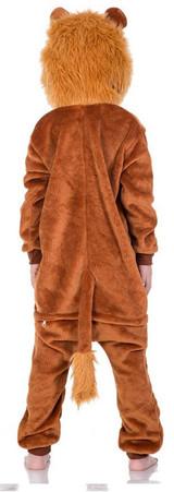 Cute Lion Kid Onesie Costume back