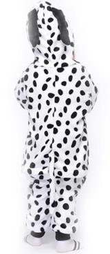 Cute Dalmatian Kid Onesie Costume Back