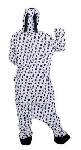 Dalmatian Onesie Adult Costume