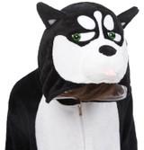 Angry Husky Kid Onesie Costume