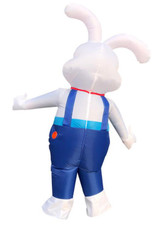 Bunny Inflatable Adult Costume detailed