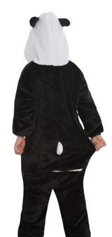 Panda Onesie Kids Costume back