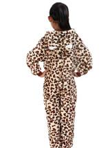 Leopard Kid Onesie Costume back side