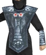 Cobra Ninja Silver Boy Costume