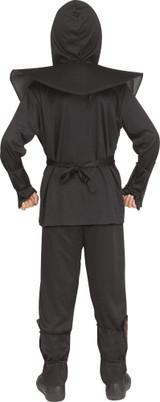 Golden Leather Ninja Kids Costume