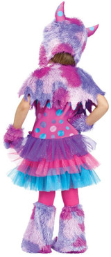 Polka Dot Monster Toddler Girl  Costume