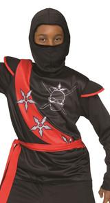 Spider Black Ninja Kids Costume